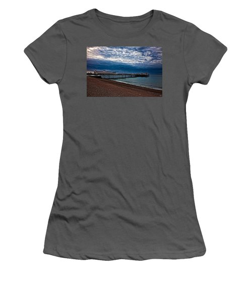 Seven Am On Brighton Seafront Women's T-Shirt (Athletic Fit)