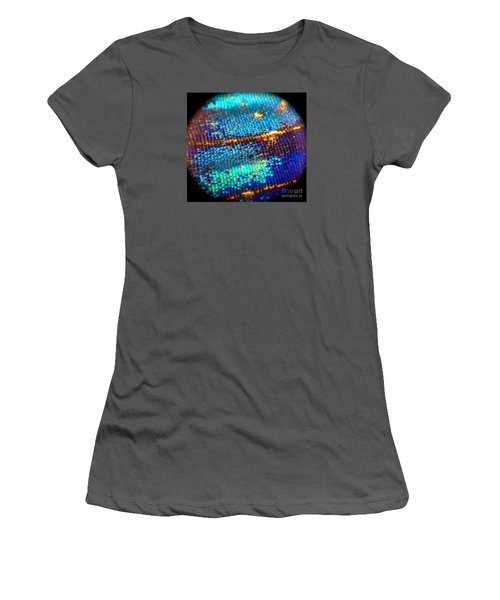 Shades Of Blue Women's T-Shirt (Athletic Fit)