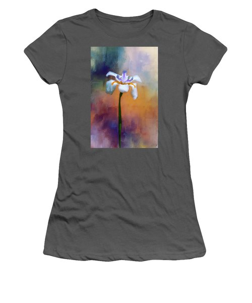 Women's T-Shirt (Junior Cut) featuring the photograph Shades Of Iris by Carolyn Marshall