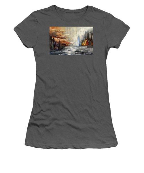 Shadowlands Women's T-Shirt (Junior Cut) by Tatiana Iliina