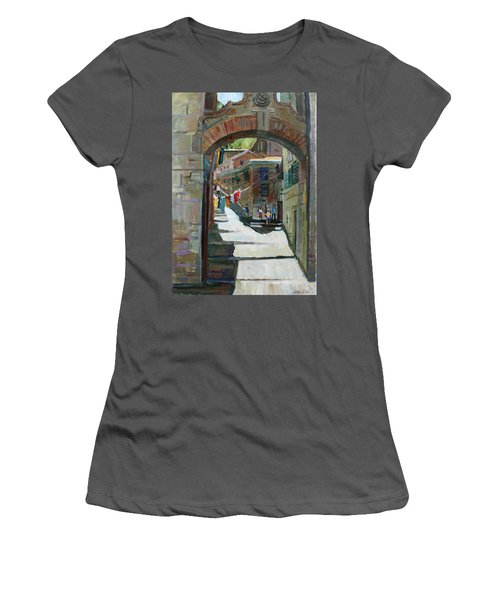 Shadows The Old Town Women's T-Shirt (Athletic Fit)
