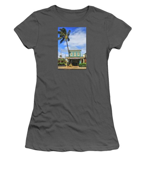 Women's T-Shirt (Junior Cut) featuring the photograph Shave Ice by DJ Florek