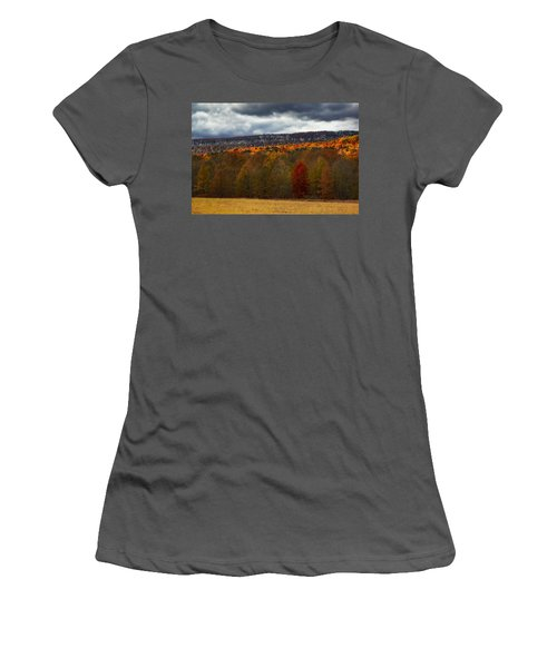 Shawangunk Mountains Hudson Valley Ny Women's T-Shirt (Athletic Fit)