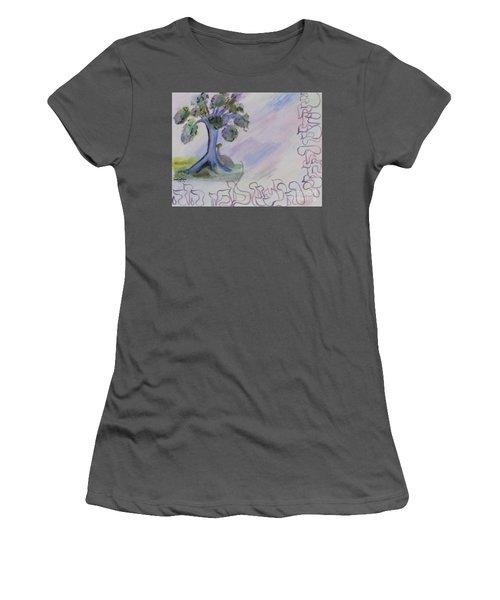 Shehecheyanu Women's T-Shirt (Athletic Fit)