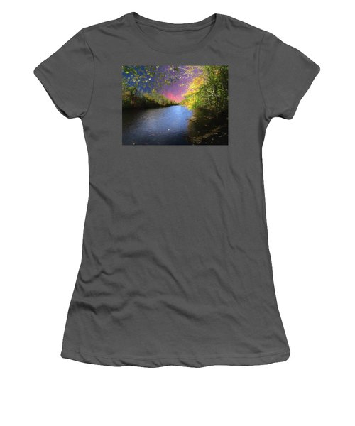 Shetucket River Ct. Women's T-Shirt (Athletic Fit)