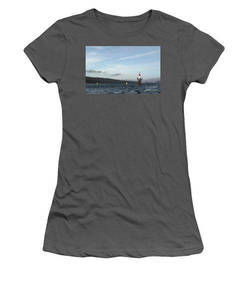 Shoal Marker Women's T-Shirt (Athletic Fit)