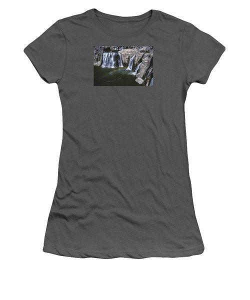 Shoshone Falls Idaho Women's T-Shirt (Athletic Fit)