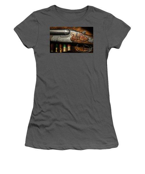 Shotgun  Women's T-Shirt (Athletic Fit)