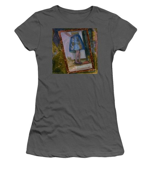 Shy Reflection Women's T-Shirt (Athletic Fit)