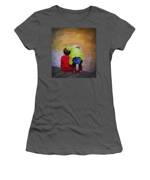 Sibling Love Women's T-Shirt (Junior Cut) by Brian Wallace