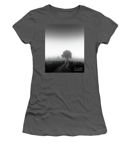 Silent Morning  Women's T-Shirt (Athletic Fit)