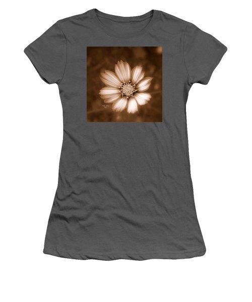 Silent Petals Women's T-Shirt (Athletic Fit)