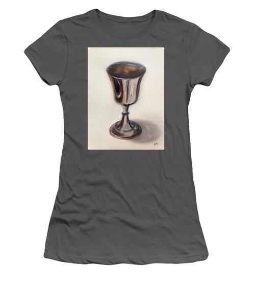 Silver Goblet Women's T-Shirt (Athletic Fit)