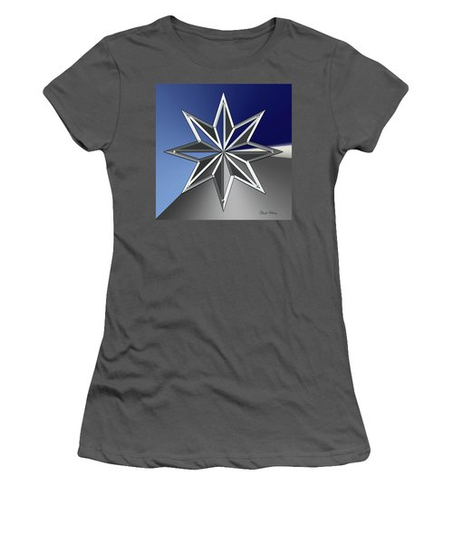 Silver Star Women's T-Shirt (Athletic Fit)