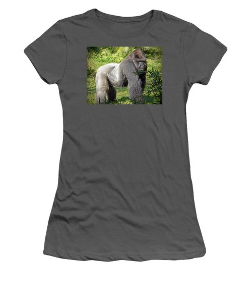 Silverback Women's T-Shirt (Athletic Fit)