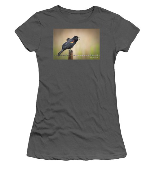 Sing A Little Song Women's T-Shirt (Athletic Fit)