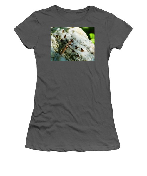Six Spotted Dragonfly Women's T-Shirt (Athletic Fit)