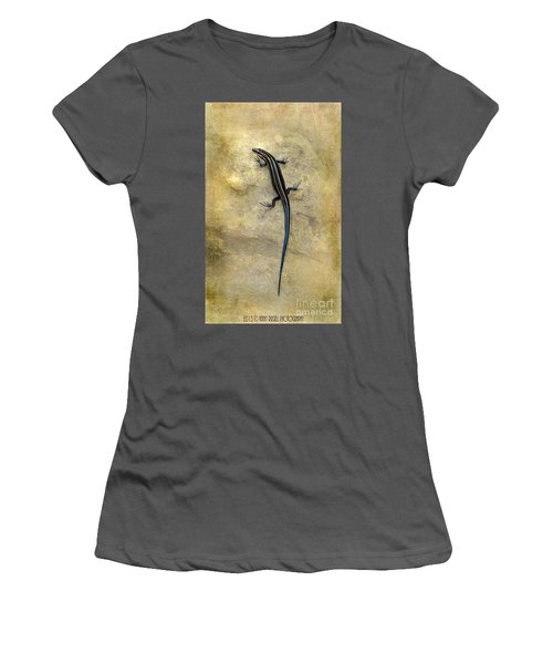 Skink Women's T-Shirt (Athletic Fit)