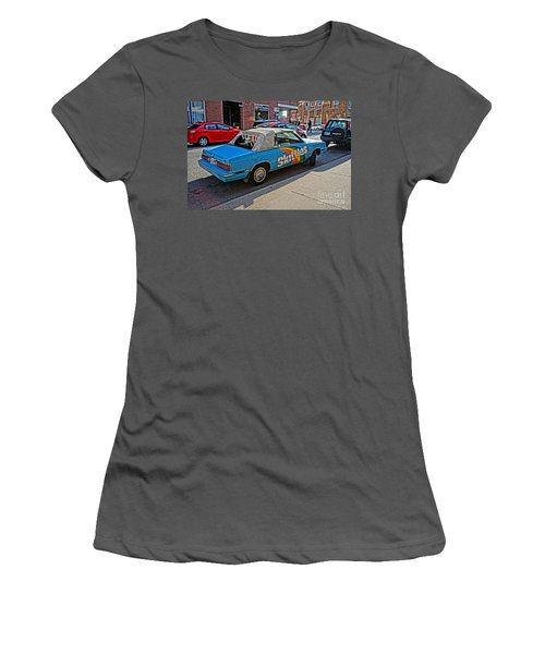 Skittles Car Women's T-Shirt (Athletic Fit)