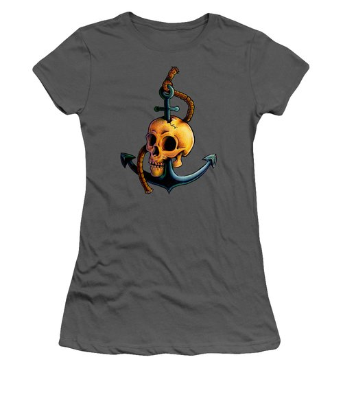 Skullchor Women's T-Shirt (Athletic Fit)
