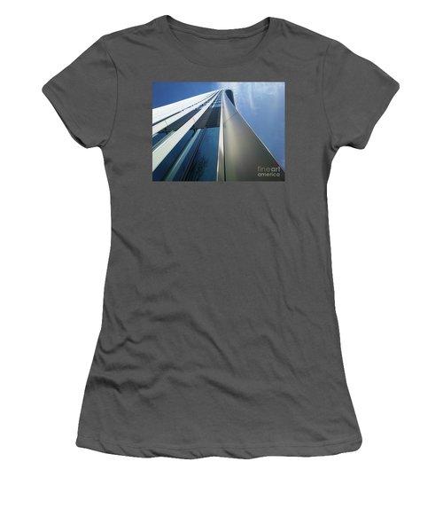 Women's T-Shirt (Junior Cut) featuring the photograph Sky Garden - London by Hanza Turgul