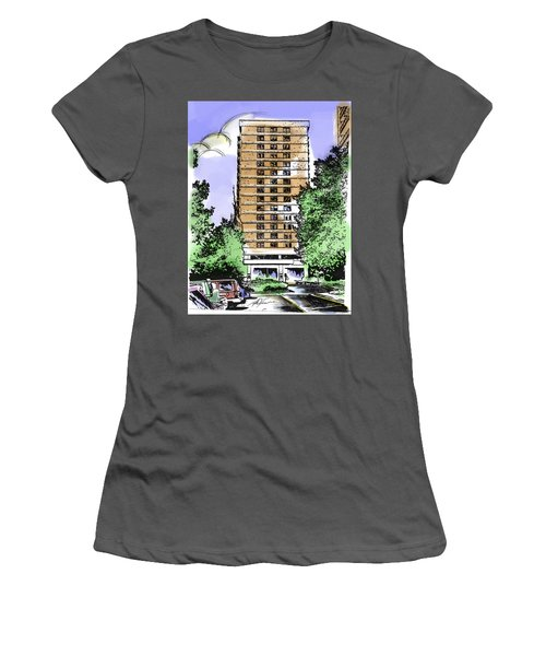 Skyline House Condo Women's T-Shirt (Athletic Fit)