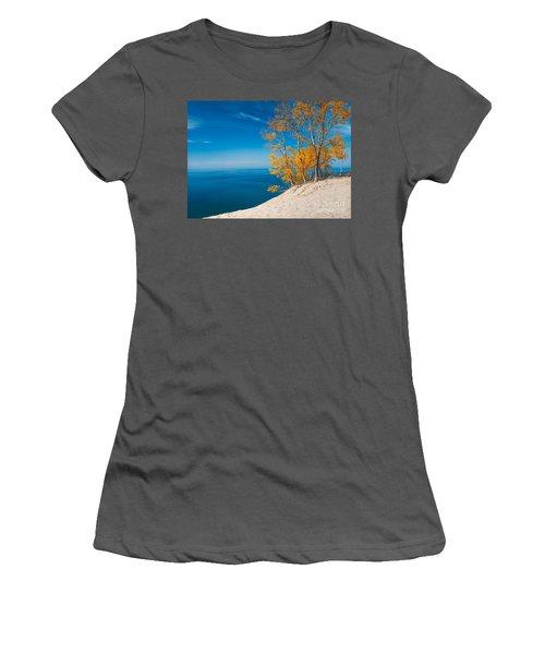 Sleeping Bear Dunes Vista 002 Women's T-Shirt (Athletic Fit)