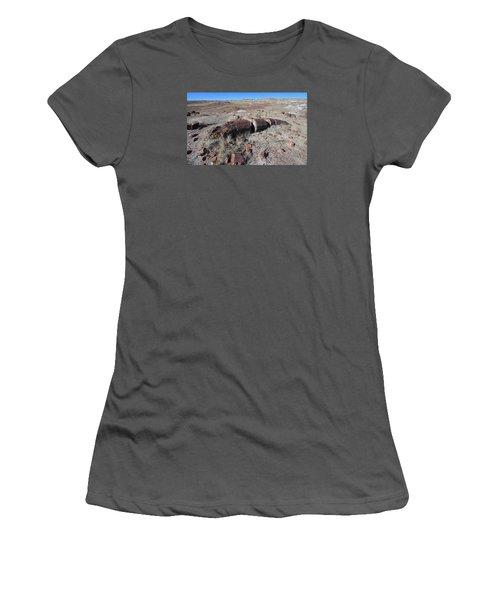 Women's T-Shirt (Junior Cut) featuring the photograph Sliced Not Diced by Gary Kaylor