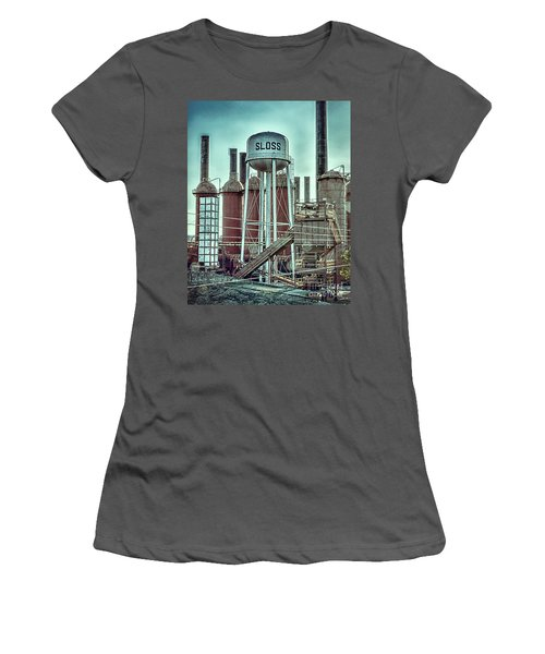 Sloss Furnaces Tower 3 Women's T-Shirt (Athletic Fit)