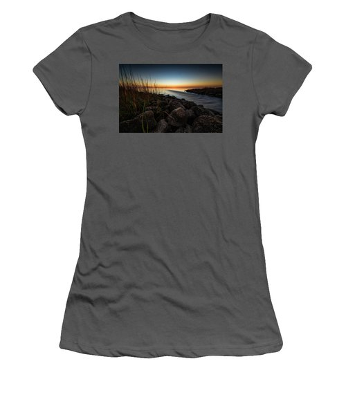 Slow Motion Runoff Women's T-Shirt (Athletic Fit)