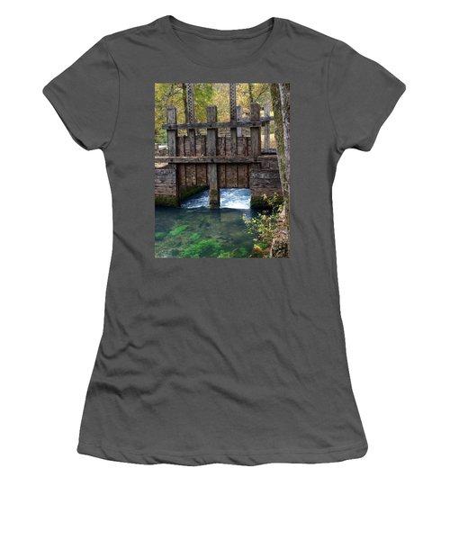 Sluce Gate Women's T-Shirt (Athletic Fit)