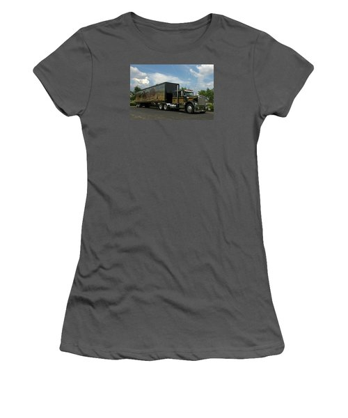 Smokey And The Bandit Tribute Vehicles Women's T-Shirt (Junior Cut) by Tim McCullough