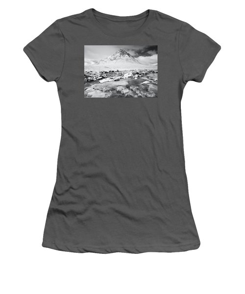 Snow In Glencoe Women's T-Shirt (Athletic Fit)
