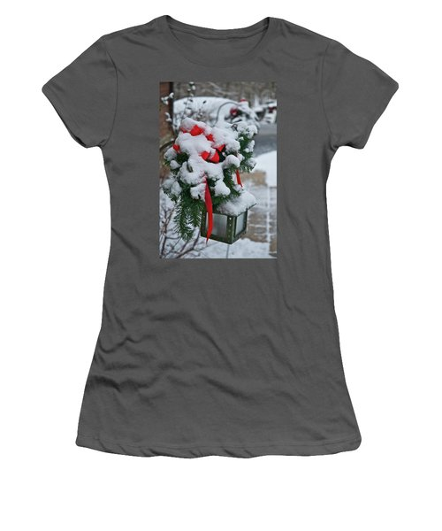 Snow Latern Women's T-Shirt (Athletic Fit)
