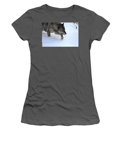 Snow Walker Women's T-Shirt (Athletic Fit)