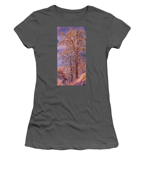 Snowy Women's T-Shirt (Athletic Fit)