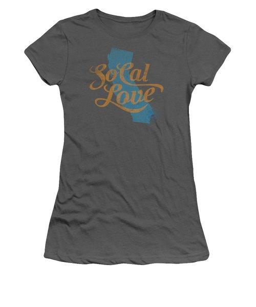 Socal Love Women's T-Shirt (Junior Cut) by Jason Richard