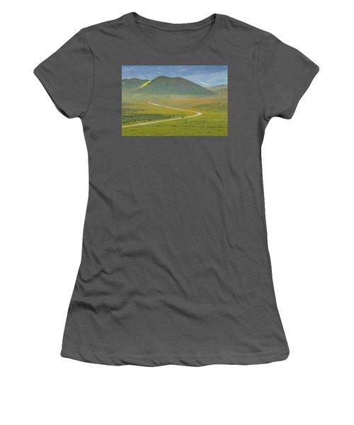 Soda Lake Road Women's T-Shirt (Athletic Fit)
