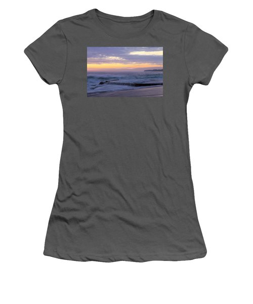 Women's T-Shirt (Junior Cut) featuring the photograph Soft Light On Victoria Beach by Viktor Savchenko