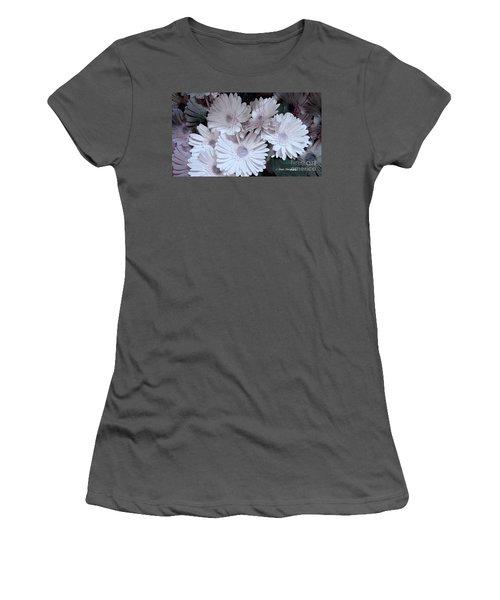 Soft Pink Daisy Bouquet Women's T-Shirt (Junior Cut) by Jeannie Rhode