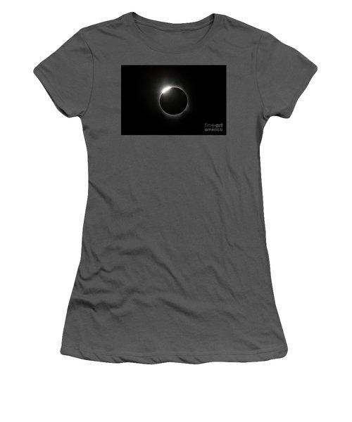 Solar Diamond Ring Women's T-Shirt (Athletic Fit)