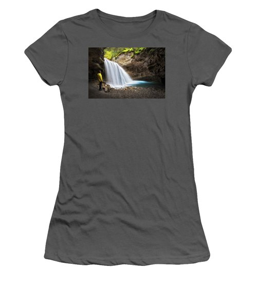 Solitary Moment Women's T-Shirt (Athletic Fit)