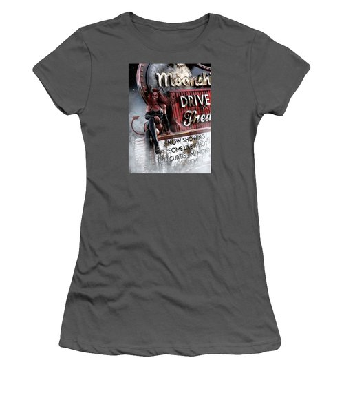 Some Like It Hot Women's T-Shirt (Athletic Fit)