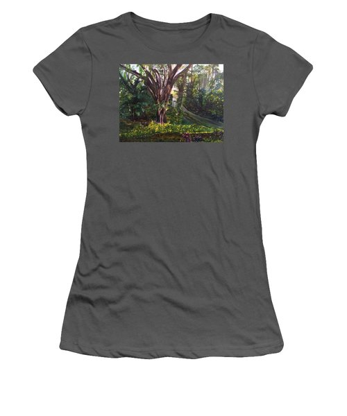 Somewhere In The Park Women's T-Shirt (Athletic Fit)