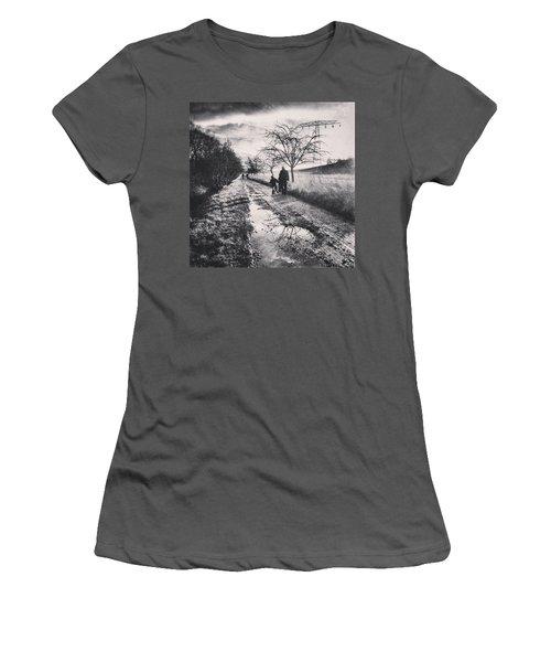 *sonntagsspaziergang  #landscape Women's T-Shirt (Athletic Fit)