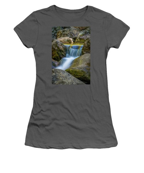 Women's T-Shirt (Athletic Fit) featuring the photograph South Mtn State Park-1 by Joye Ardyn Durham