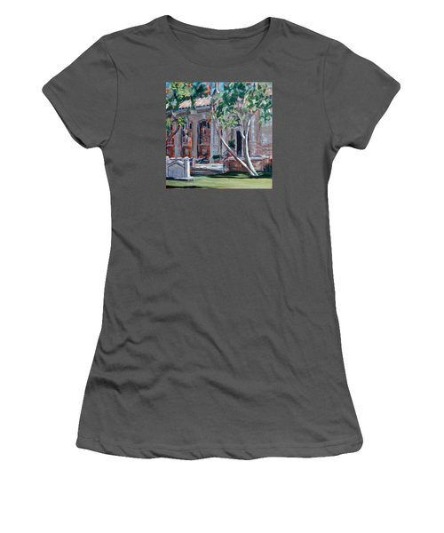 South Pasadena Library Women's T-Shirt (Junior Cut) by Richard Willson