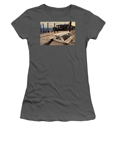 Southport Picnic Table Women's T-Shirt (Athletic Fit)