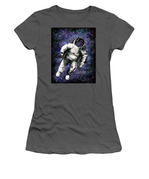 Spaaaaace Women's T-Shirt (Junior Cut) by Arleana Holtzmann
