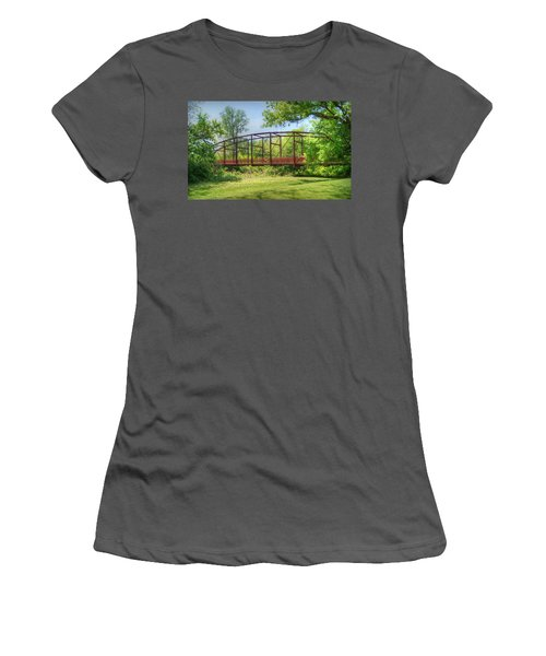 Spanning Time Women's T-Shirt (Athletic Fit)